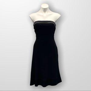BEBE Strapless Little Black Dress Size Medium